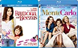 Ramona and Beezus & Monte Carlo Blu Ray Selena Gomez Set (2-Pack) movies