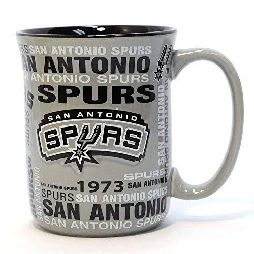 (NBA San Antonio Spurs Sculpted Spirit Mug, 17-ounce )
