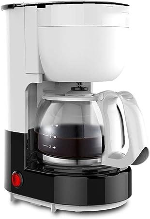 LWM Cafetera Y Cafetera EspressoMáquina De Café, Función De Mudo Concentrado Anti-Goteo Cappuccino Molinillo De Grano De Café Plástico Cafetera Filtro para La Oficina En Casa (Blanco): Amazon.es: Hogar
