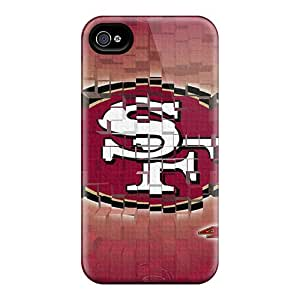 Durable San Francisco 49ers Back Case/cover For Iphone 4/4s