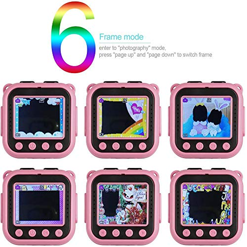 Ourlife Kids Camera Toys for Girls Age 3-9, Child Digital Video Cameras with 8GB SD Card and 100 FT Waterproof, Toy…