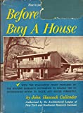 img - for Before You Buy a House book / textbook / text book