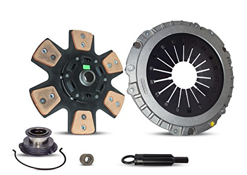 Clutch Kit Works With Chevrolet Camaro Pontiac Firebird Z28 Formula Trans Am Indianapolis 500 Pace Car Coupe Convertible 1993-1997 5.7L V8 GAS OHV Naturally Aspirated (6-Puck Clutch Disc Stage 2)
