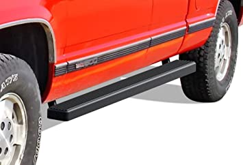 "iBoard Running Boards 5/"" Fit 88-98 Chevy//GMC C//K Pickup Regular Cab"