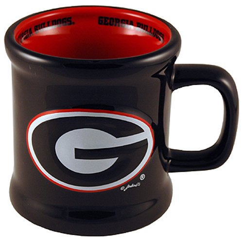 s Ceramic Relief Logo Mug (Georgia Bulldogs Ceramic)