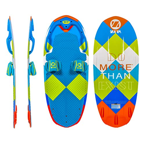 ZUP DoMore Board All-in-One Performance Board with Tow Hook, Trainer Board, Wakeboard, Kneeboard and Water Skis for Water Sports, Boating, Joey