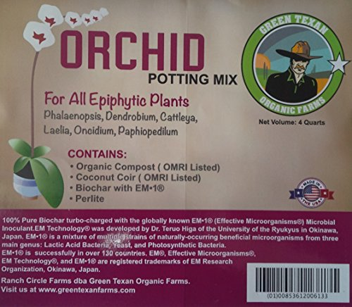 - Orchid Potting Mix (4 Quarts)
