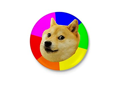 Alter Ego Such Amaze - Much Wow! - Doge Funny Badge