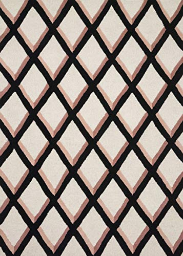 Now House by Jonathan Adler Martine Collection Area Rug, 2'3″ x 3'9″, Blush