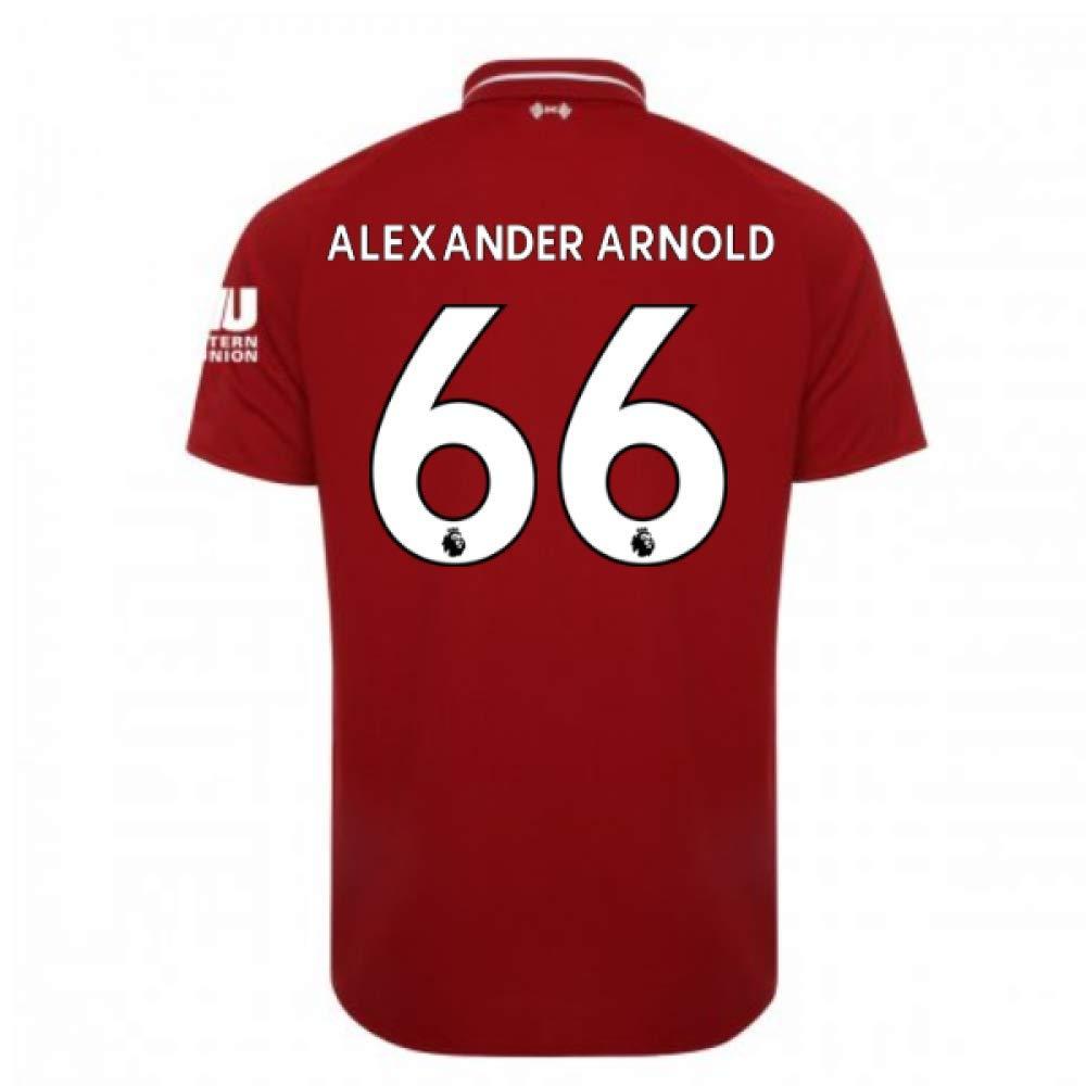 2018-2019 Liverpool Home Football Soccer T-Shirt Trikot (Alexander Arnold 66)