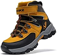 Kids Hiking Boots Boys Girls Outdoor Walking Climbing Sneaker Comfortable Non-Slip Snow Shoes Hiker Boot Antis