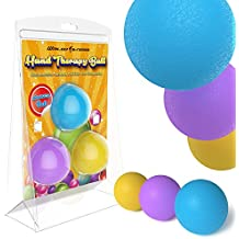 Wailea Fitness Hand Therapy Balls Exercises - Squeeze Ball - Home Exercise Kits - Hand Grips
