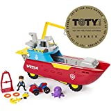 Nickelodeon Paw Patrol Sea Patrol - Sea Patroller Transforming Vehicle with Lights and Sounds