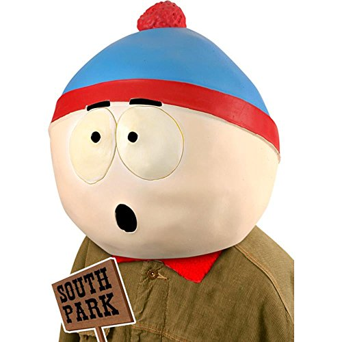 Adult Stan South Park Costume Mask -