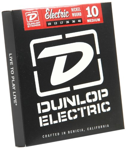 Jim Dunlop DPS10 10 Gauge Plain Steel Electric Guitar E String, Medium (Single)