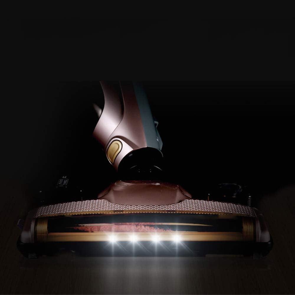 Ping Bu Qing Yun Aspirateur - Foyer sec et humide une charge de pliage sans fil petite lampe grande aspirateur d\'aspiration, 28X20X112cm Aspirateurs (Color : A) A