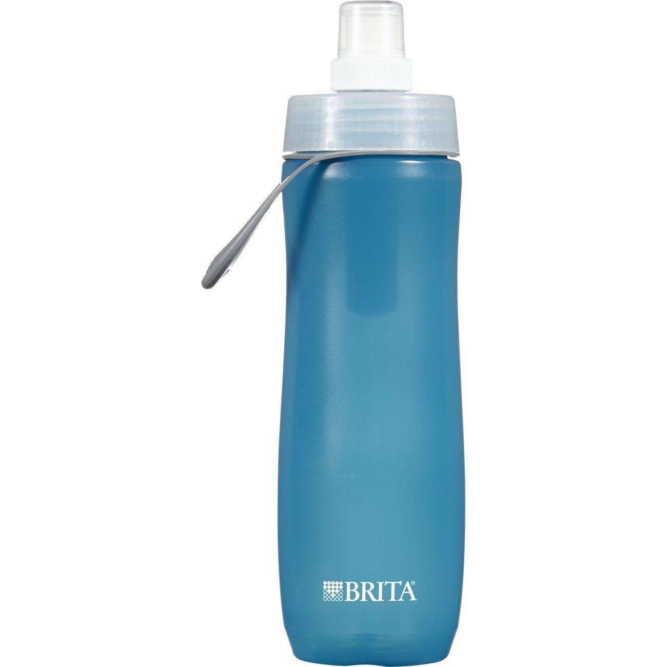brita water filter. Brita Sport Water Filter Bottle, Dark Turquoise, 590 Millilitres: Amazon.ca: Home \u0026 Kitchen I