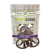 Nature Gnaws Porky Pretzels 4-5″ (5 Pack) – 100% Natural Dog Chews for Small Dogs Review