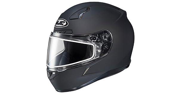 HJC CL-17 Plus Full Face Motorcycle Street Helmet Black XXXXX-Large XXXXXL 5X