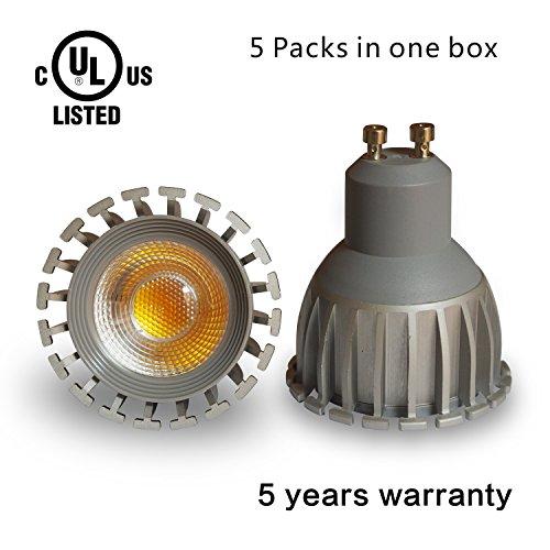 5 Watt GU10 LED Spotlight 50W Replacement 5 Year Warranty
