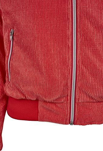 Pleated Rosa Urban Short 00092 Donna coral Classics Cappotto Blouson HHpEYw