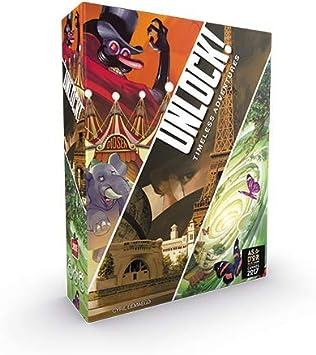 Asmodee Italia - Unlock Timeless Adventures Escape Room de Mesa, edición íntegramente en Italia, Color 8985: Amazon.es: Juguetes y juegos