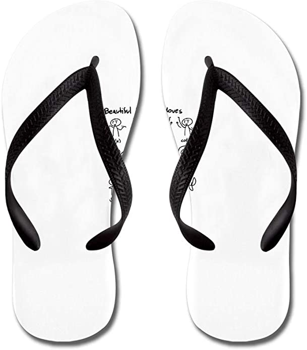 Lplpol Personalizable Customized Family Photos and Text Flip Flops for Kids and Adult Unisex Beach Sandals Pool Shoes Party Slippers