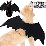 AMENON Halloween Costumes Pets Dogs Cats Halloween Party Skeleton Dog Speider Costume Cloak Cosplay Apparel Bat Wings for Pets