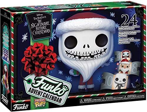 Funko Calendario de Adviento: Pesadilla antes de Navidad - ¡24 Pocket Pop! Figuras de vinilo (2020)
