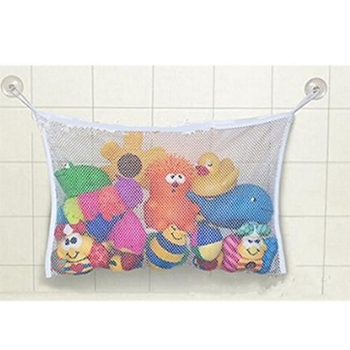 Mesh Toy (GUAngqi Baby Bath Time Toy Storage Suction Bag Mesh Net Bathroom)