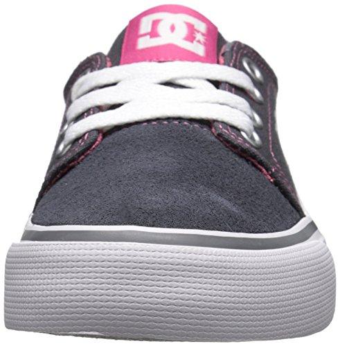 DC Mädchen Trase Low Top Freizeitschuh Battleship/Pink