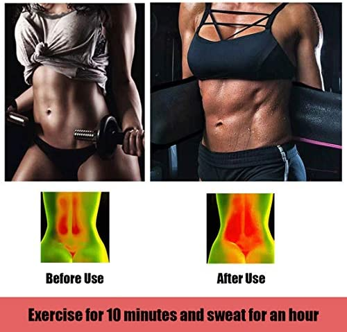HIFEOS Waist Trimmer, Waist Trimmer Belt for Weight Loss, Slim Body Sweat Belt for Stomach Sauna Exercise, for Women and Men, Belly Fat Slimming Band 5