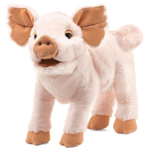 Folkmanis Piglet Hand Puppet by Folkmanis
