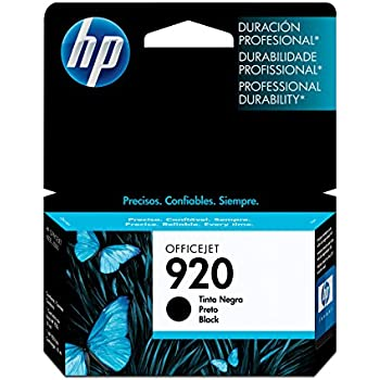 hp 920xl black high yield original ink cartridge cd975an office products. Black Bedroom Furniture Sets. Home Design Ideas