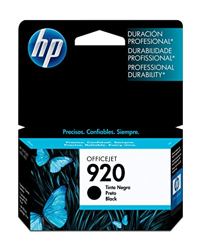 HP 920 Black Original Ink Cartridge For HP Officejet 6000, 6500,7000, 7500