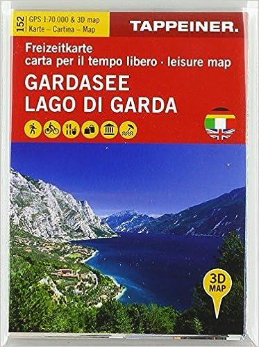 Cartina Topografica Lago Di Garda.Amazon It Koka 152 Lago Di Garda Carta Topografica 1 70 000 E Panoramica In 3d Aa Vv Libri