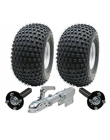 juego de remolque ATV - Quad remolque - ruedas Wanda + hub + y talón de