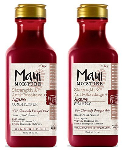 Maui Moisture Strength & Anti-Breakage + Agave Nectar (Shampoo & Conditioner)