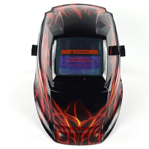 Máscara protectora de soldadura para oscurecimiento automático, solar, casco de soldadura, transpirable, soldadura, gafas protectoras de soldar, ...