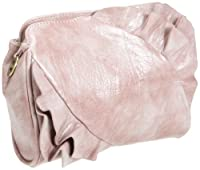 Travelon Ruffle Clutch,Pink,One Size