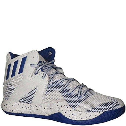 Adidas Mens Sm Folle Bounce Nba Basketball Runningblanc / Bluesld / Runningblanc D (m) Us Runningblanc / Bluesld / Runningblanc