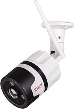 1080p Full HD Wi-Fi Camera with Audio Night Vision, Outdoor Security Camera