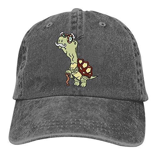 - Tortoise Shell Unisex Baseball Caps Adjustable Cowboys Hat Charcoal