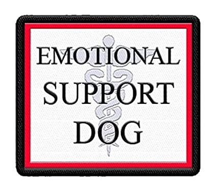 0b88ea71e0c Image Unavailable. Image not available for. Color   quot Emotional Support  Dog quot  Vest Patch ...