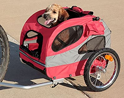 Solvit HoundAbout Pet Bicycle Trailer