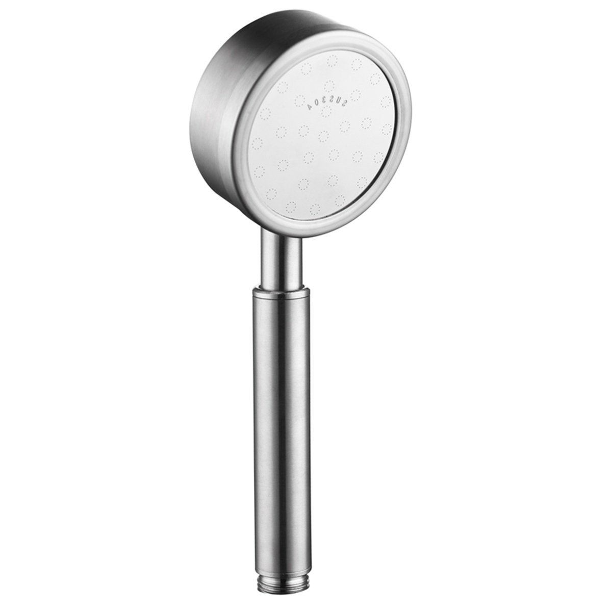 Ciencia 304 Stainless Steel Shower Head High Pressure Handheld Showerhead Nickel, Hand Shower Head Only, BS141A