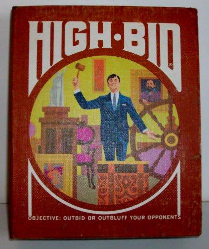 High Bid Vintage 3M Gamette 1970 Art Bluffing Game (Masterpiece Board Game 1970 compare prices)