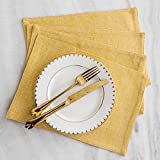 Home Brilliant Dining Placemats Set of 6 Heat