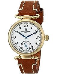 Charles-Hubert, Paris Women's 6957-G Premium Collection Analog Display Japanese Quartz Brown Watch