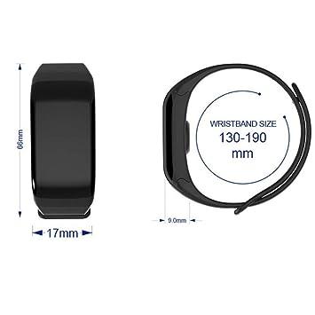 UTHDELD Smartwatch Banda Inteligente Colorida F601 Monitor ...